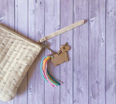 Porte clés-Licorne-anniversaire-enfant